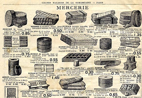 Les grands magasins for Catalogue de jardinage par correspondance